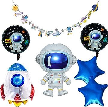 Amazon.com: Juego de fiesta con temática espacial, incluye ...
