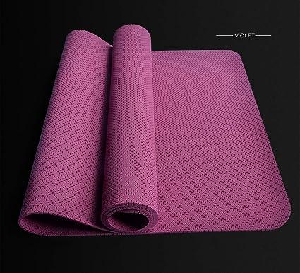 Amazon.com : Happy Time Yoga Mat Indoor Exercise Mat TPE ...