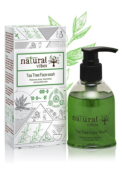 Cos.# [Beauty] Tea Tree Repair Serum 50ml Soothing Blemish Care Aubrey Organics Everyday Basic Daily Skin Moisturizer Normal/oily 1.7 Oz