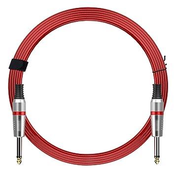 Rendimiento Series Cables de instrumento para guitarra eléctrica, bajo, guitarra, teclado instrumento de