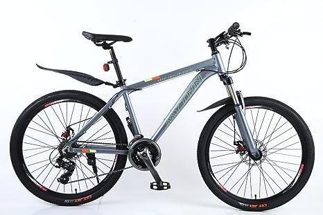 mytnn Mountain Bike Bicicleta 26 pulgadas marco de aluminio, 21 ...