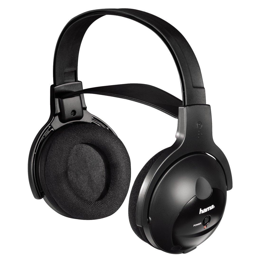 Hama FK-969 - Auriculares de diadema abiertos, negro: Amazon.es: Electrónica