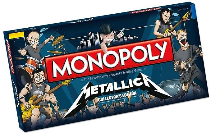 Amazon.com: Monopoly Metallica: Toys & Games