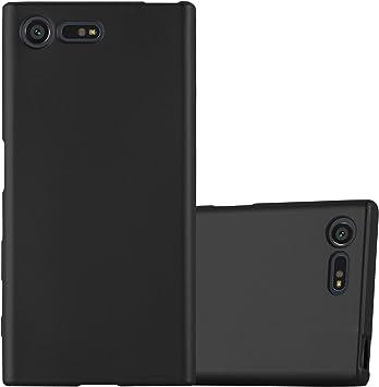 Cadorabo Funda para Sony Xperia X Compact en Metallic Negro ...