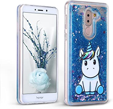 Mosoris Funda Huawei Honor 6X / Mate 9 Lite Carcasa, 3D Bling ...