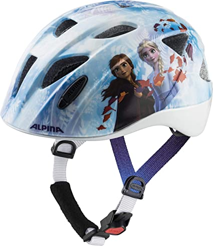 Alpina XIMO Casco de Ciclismo, Girls, Disney Frozen, 47-51: Amazon ...
