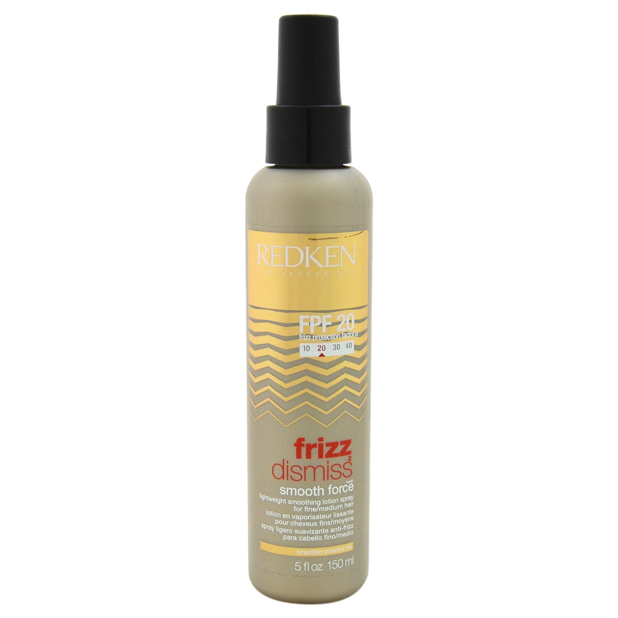Redken Unisex Frizz Dismiss FPF20 Smooth Force Hair Lotion Spray, 5 Ounce by REDKEN