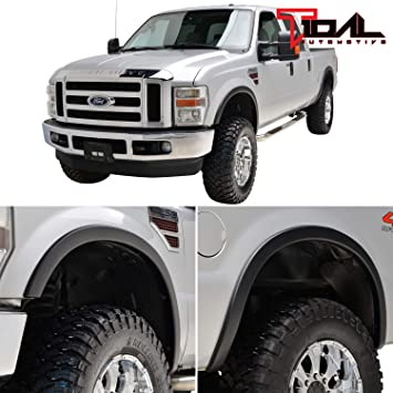 F 350 Super Duty 4pc Black Paintable Oe Style Fender Flares 08 10 Ford F 250