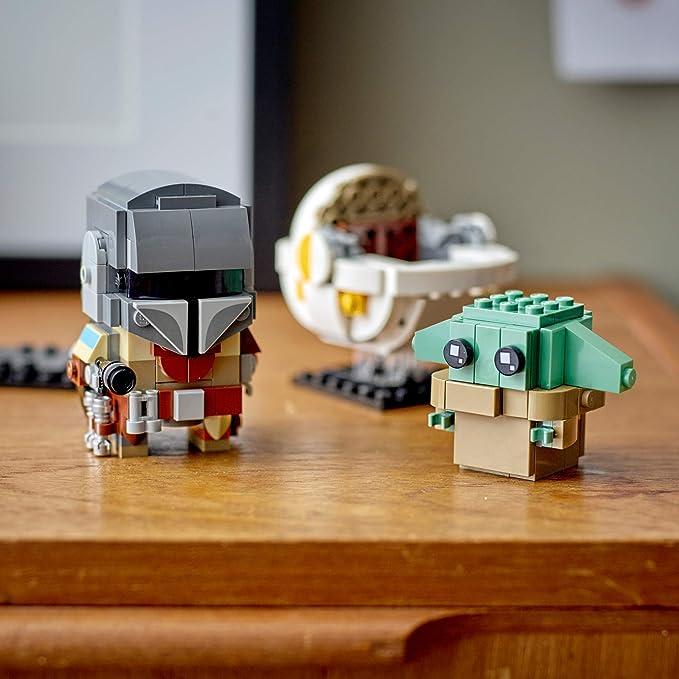 LEGO STAR WARS BRICKHEADZ THE MANDALORIAN /& THE CHILD 75317 BRAND NEW IN BOX