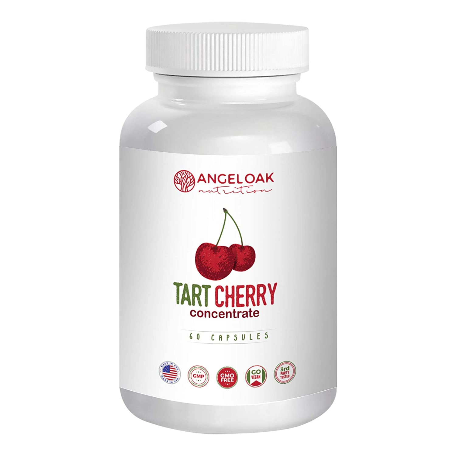 Tart Cherry Extract – Made from Organic Cherries –– Uric Acid Cleanse   Support for Healthy
