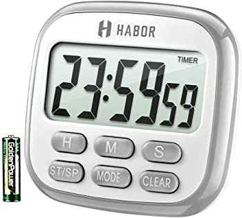 Habor 24-Hour Multi-Functional Kitchen Timer