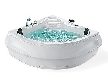 Whirlpool Badewanne St Tropez Mit 14 Massage Dusen Heizung Ozon