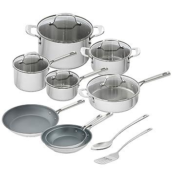Emeril Lagasse 15-Piece Set De Cocina De Acero Inoxidable: Amazon.es: Hogar