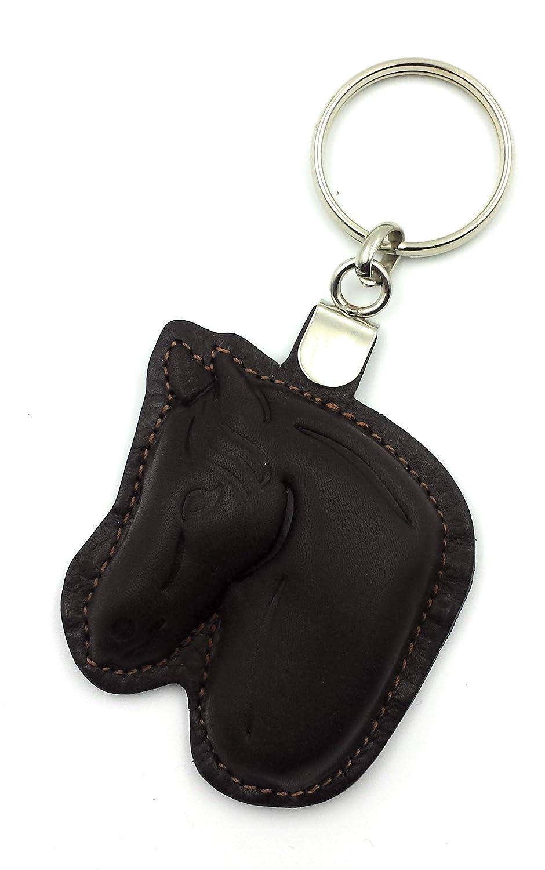 FJR-ArtPiel - Llavero cabeza de caballo hecho en Piel ...