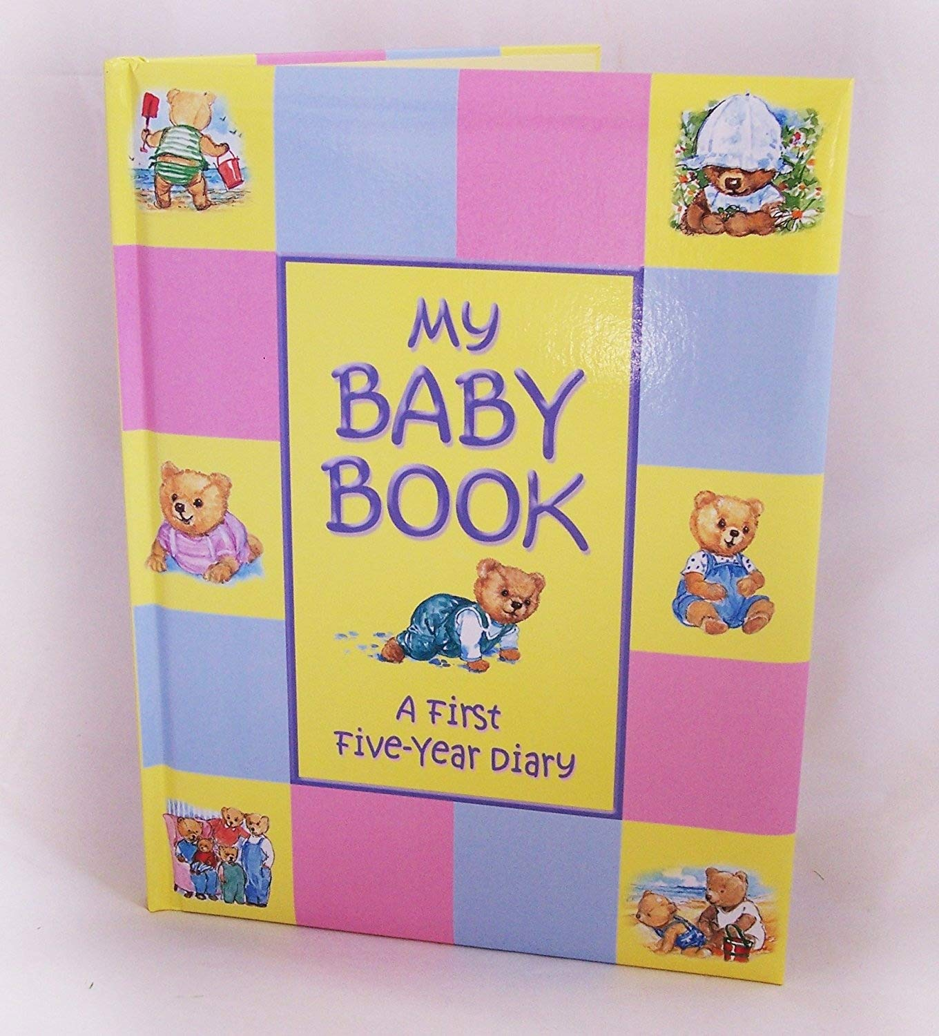 Treasured Memories My Baby Book – Erste Fünf Jahr Baby Record Book, mehrfarbig Unknown 5057073398492