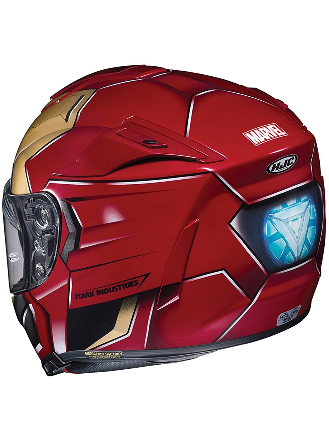 Casco Moto Hjc Marvel Rpha 70 Ironman Homecoming Rojo-Oro (M , Rojo): Amazon.es: Deportes y aire libre