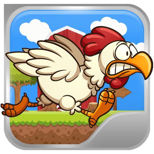 Farm Chicken Run - A farm run and fly story of next door chicken hero! Chicken Cross