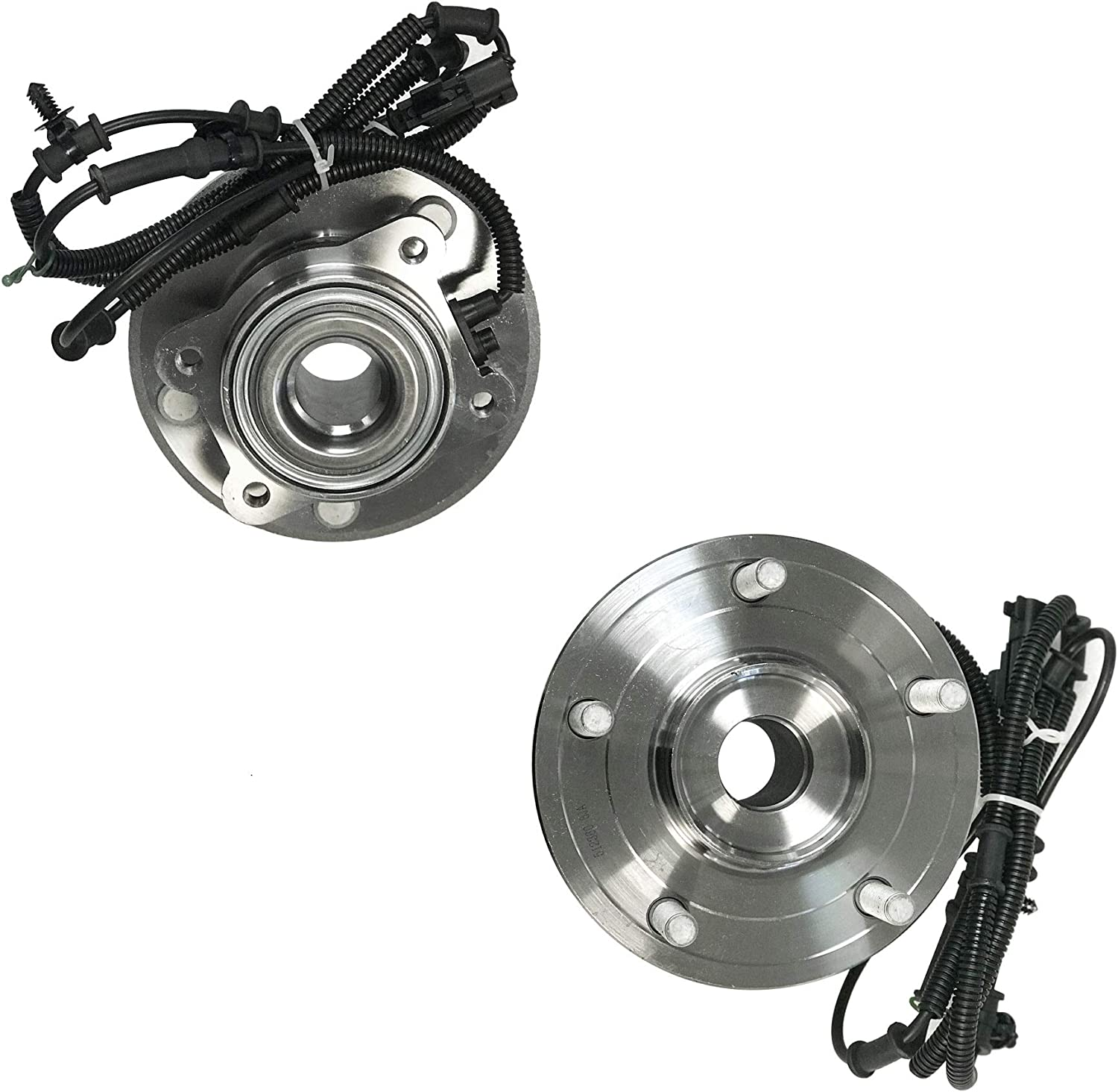 DRIVESTAR 512360 Rear Wheel Hub & Bearing Assembly for Chry Town & Country/Dodge 08 09 10 11 12 Grand Caravan, 09-12 Volkswagen Routan w/ABS(Pair)