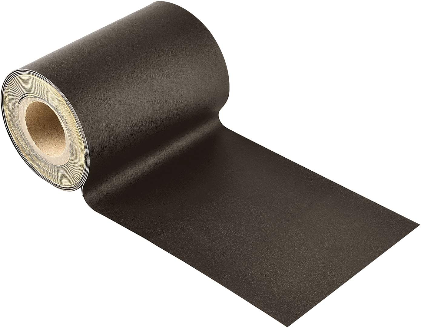 Leather Repair Tape, Self-Adhesive Leather Repair Patch for Sofas, Car Seats, Handbags,Furniture, Drivers Seat,Dark Brown, 5 X 180 Inch