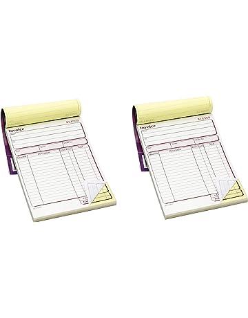 127/x 203/mm de 50/dupli autocopiants facture Book Single dcu5842 Adams A5/