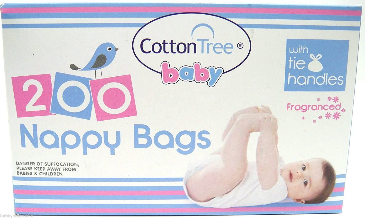 Disposable Nappy Bags fragranced 200 bags