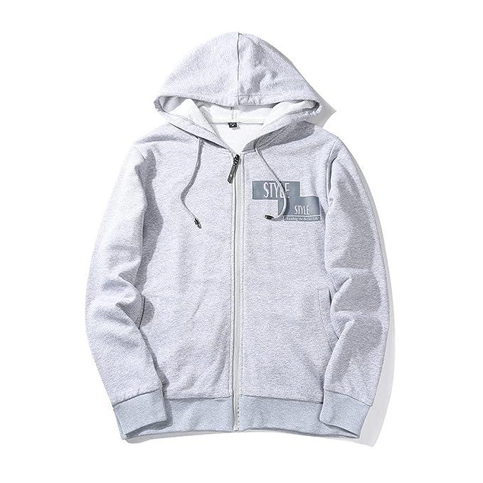 Bleuzee Winter Hoodies Sudaderas Hombre Hip Hop Mens Brand Casual Zipper Sweatshirt Slim Fit Hoody at Amazon Mens Clothing store: