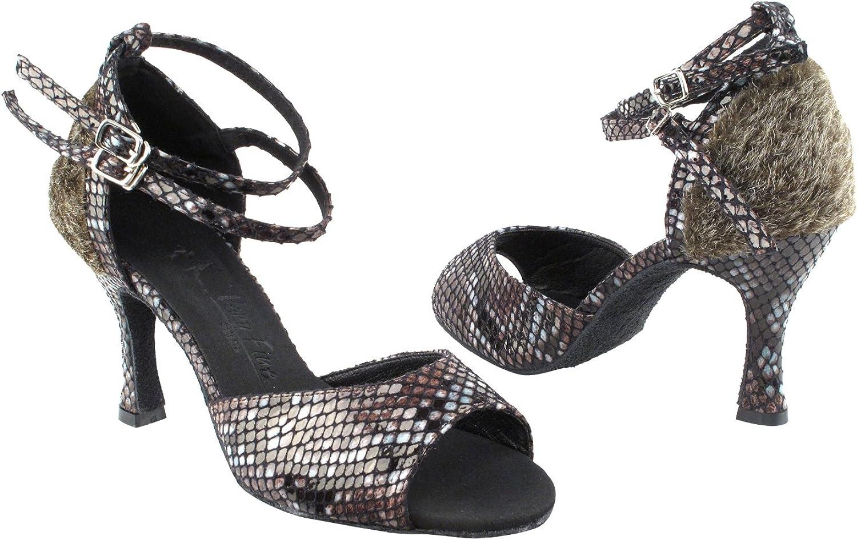 50 Shades Animal Prints Ballroom Latin Dance Shoes for Women Ballroom Salsa Wedding Clubing Swing
