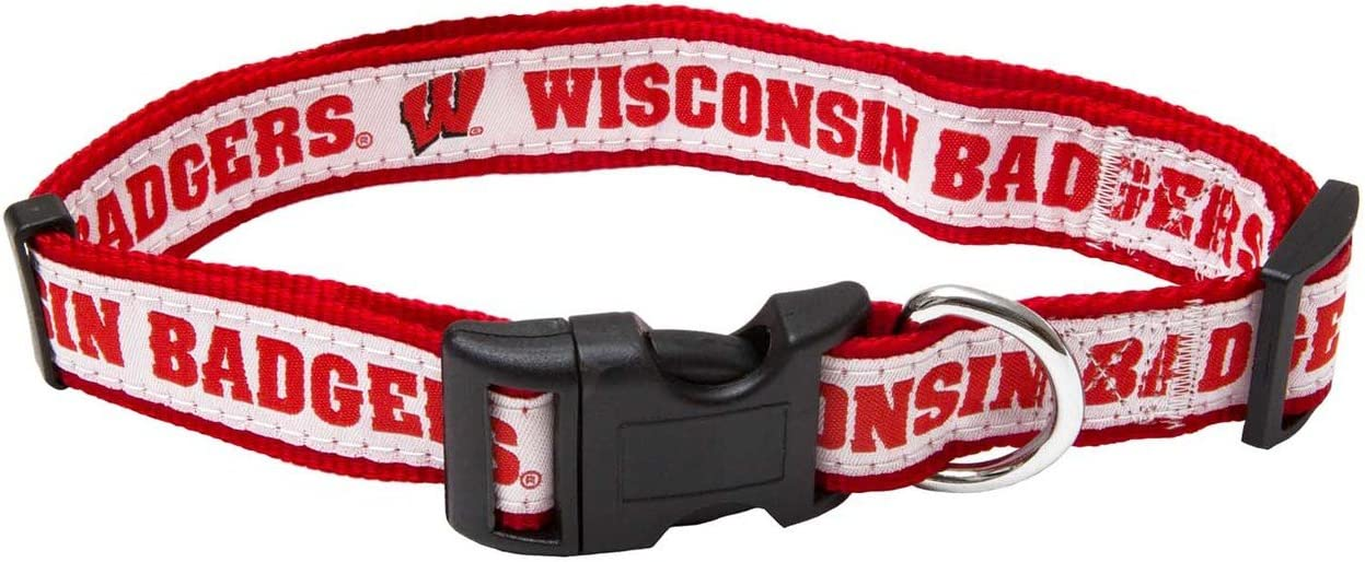 Pets First Wisconsin Badgers Collar
