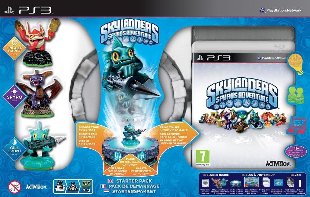 Activision Skylanders: Spyros Adventure Starter Pack PlayStation 3 vídeo - Juego (PlayStation 3, Acción / Aventura, Modo multijugador, E10 + (Everyone 10 +)): Amazon.es: Videojuegos
