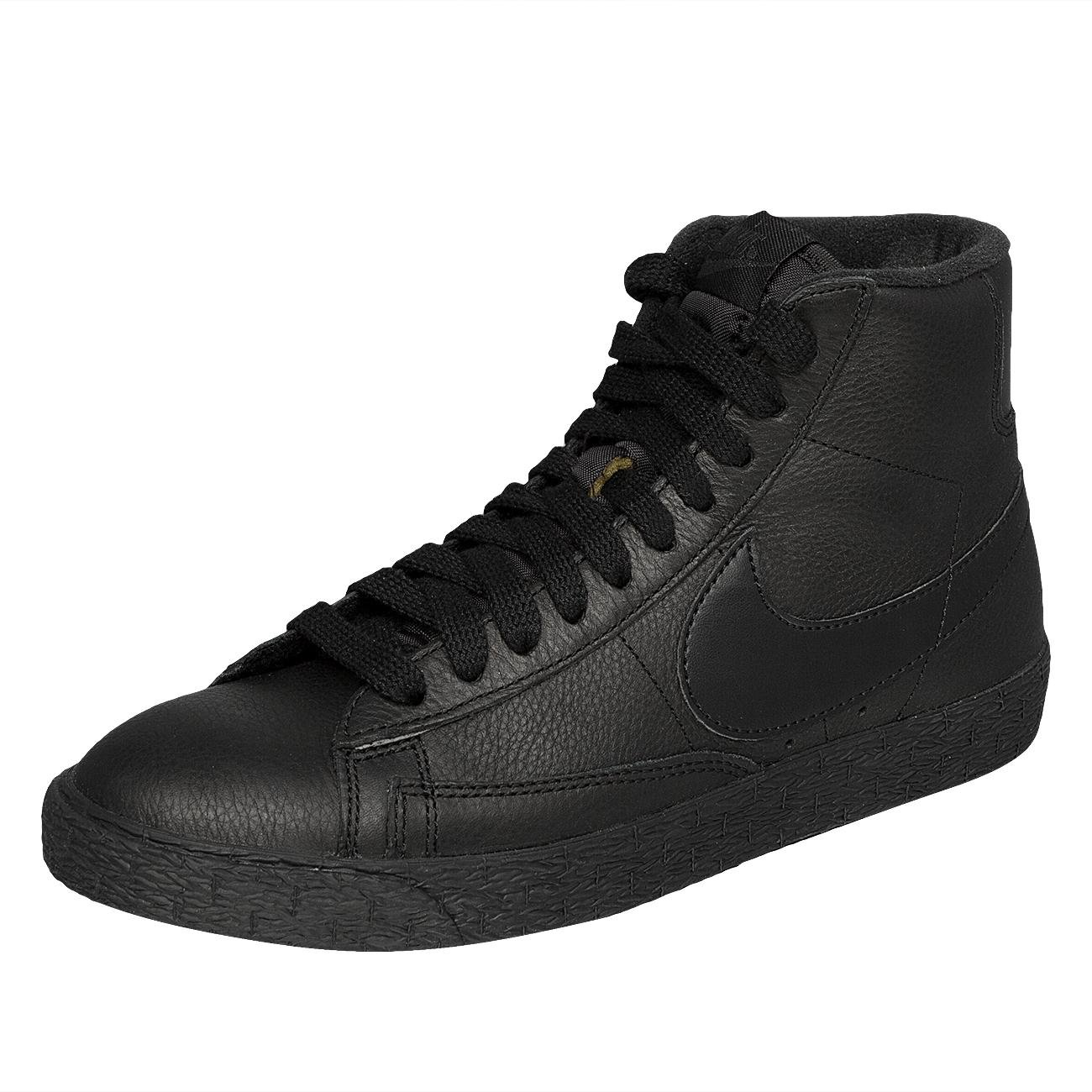 nike Womens Blazer Mid SE Hi Top Trainers 885315 Sneakers Shoes (US 6.5, black anthracite 001)