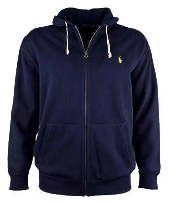 dark blue ralph lauren hoodie