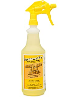 Greenwaldu0027s Carpet, Fabric U0026 Upholstery Cleaner And Stain Remover. Spray  Bottle + Enough To
