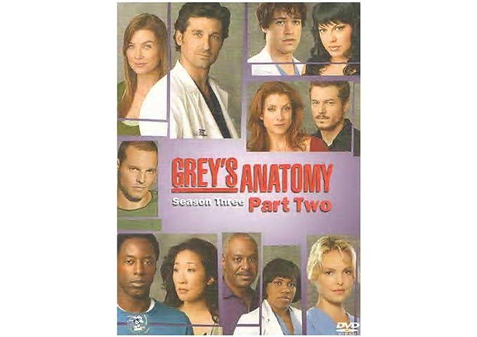 Amazon.in: Buy GREY\'S ANATOMY SEASON 3 PART 2 DVD DVD, Blu-ray ...