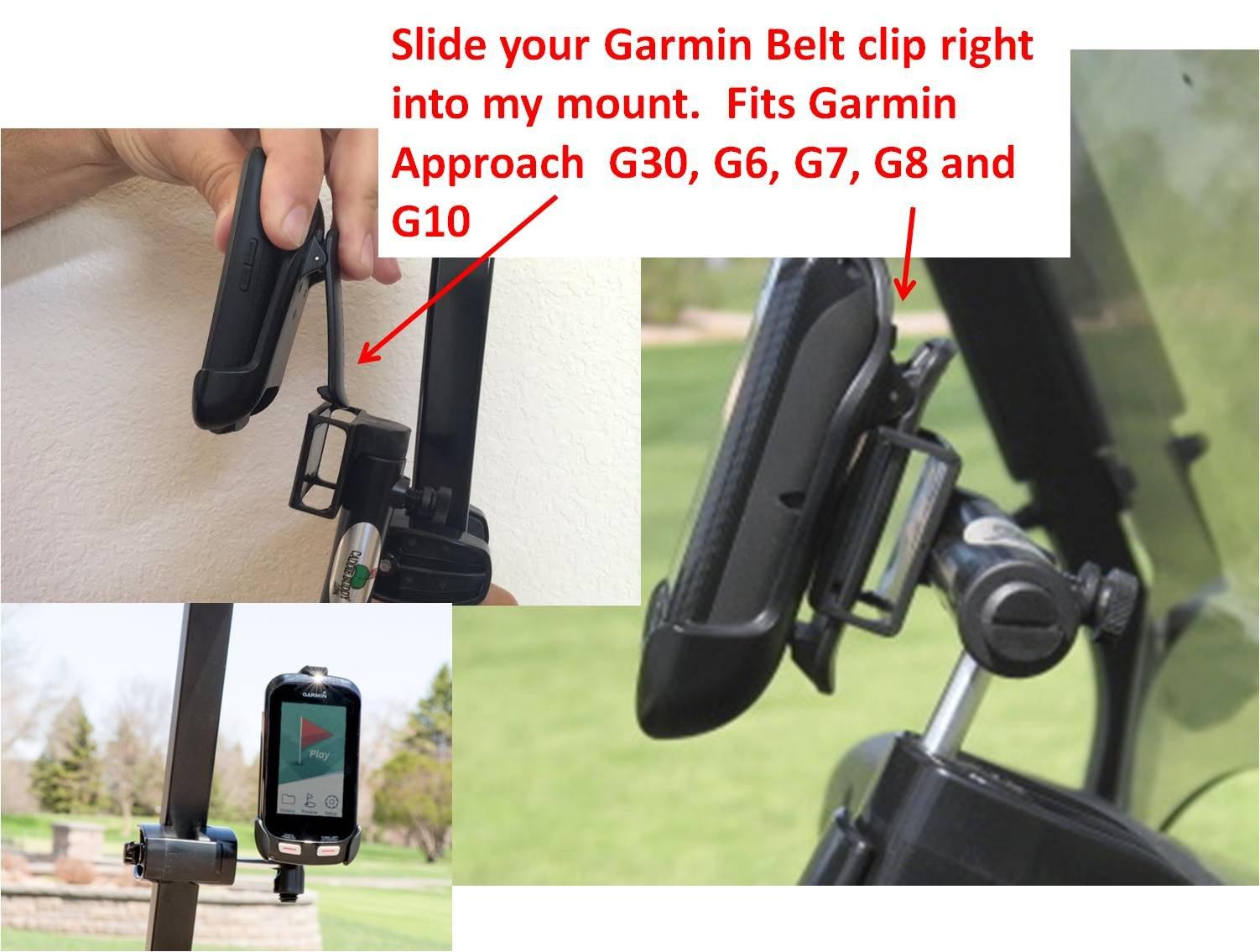 Golf Cart Mount for Garmin G6 G7 G8 G30 and G10