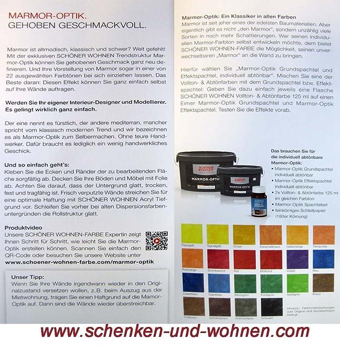 Marmor-Optik Effektspachtel crema 1 kg Schöner Wohnen: Amazon.de ...