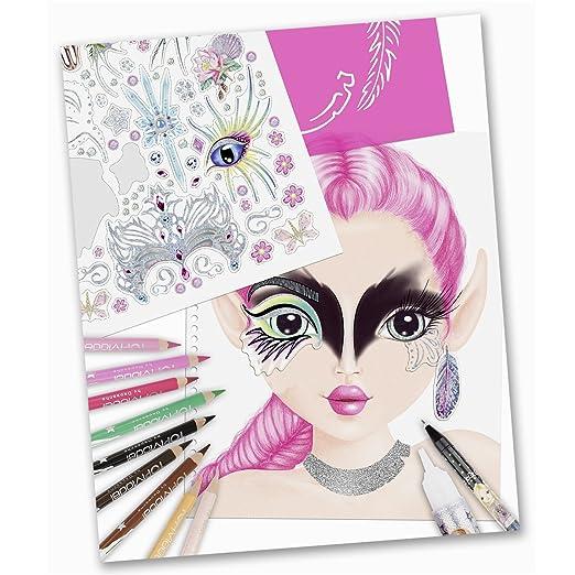Top Model 6463 Create your Fantasy Face - Malbuch,: Amazon.de: Spielzeug