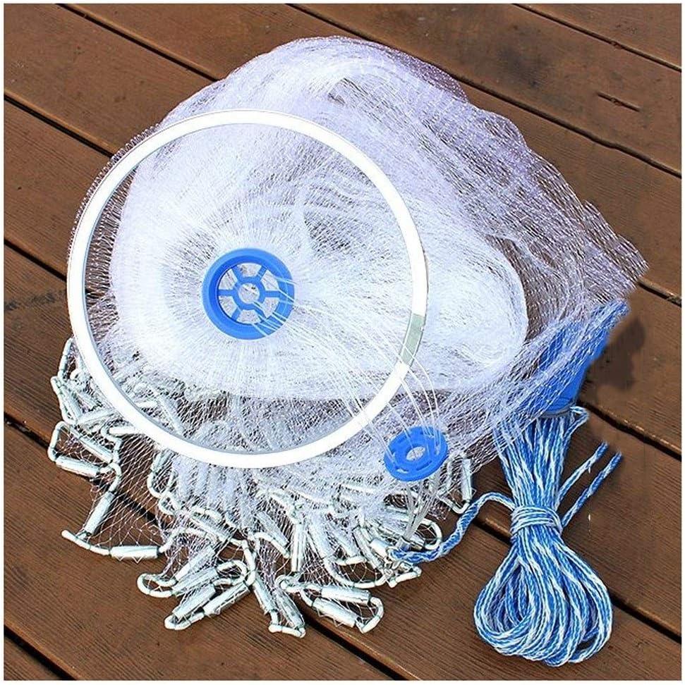18/'/' Hand Throwing Fishing Cast Net  Auxiliary Catching Fishing Net  2020