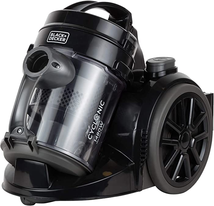 Black+Decker VM1480 Vacuum Cleaner, 1-Liter, 220-Volts (Not for USA - European Cord)