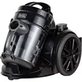 Black+Decker 1480w Bagless Multicyclonic Canister Vacuum Cleaner, Black - VM1480-B5