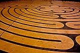 Wallmonkeys Prayer Labyrinth Wall Mural Peel and
