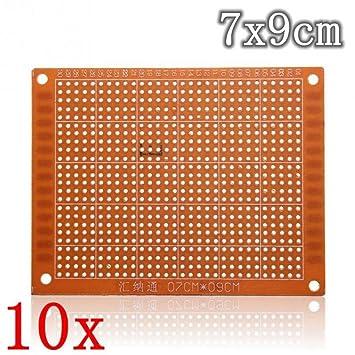 amazon com single night 10pcs veroboard stripboard pcb price rh amazon com