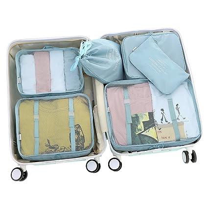 f0d3a85449db D-POCKET Storage Bags Organizer Cubes Travel Organizer Luggage Organizer  Functional Clothing Cubes Travel Luggage Organizer Clothes Storage Bags ...