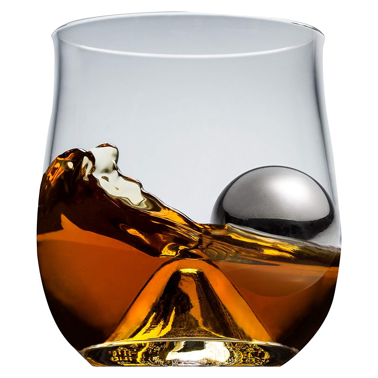 Rox and Roll 4 Piece Old Fashioned Glass Set (4 gift boxes)