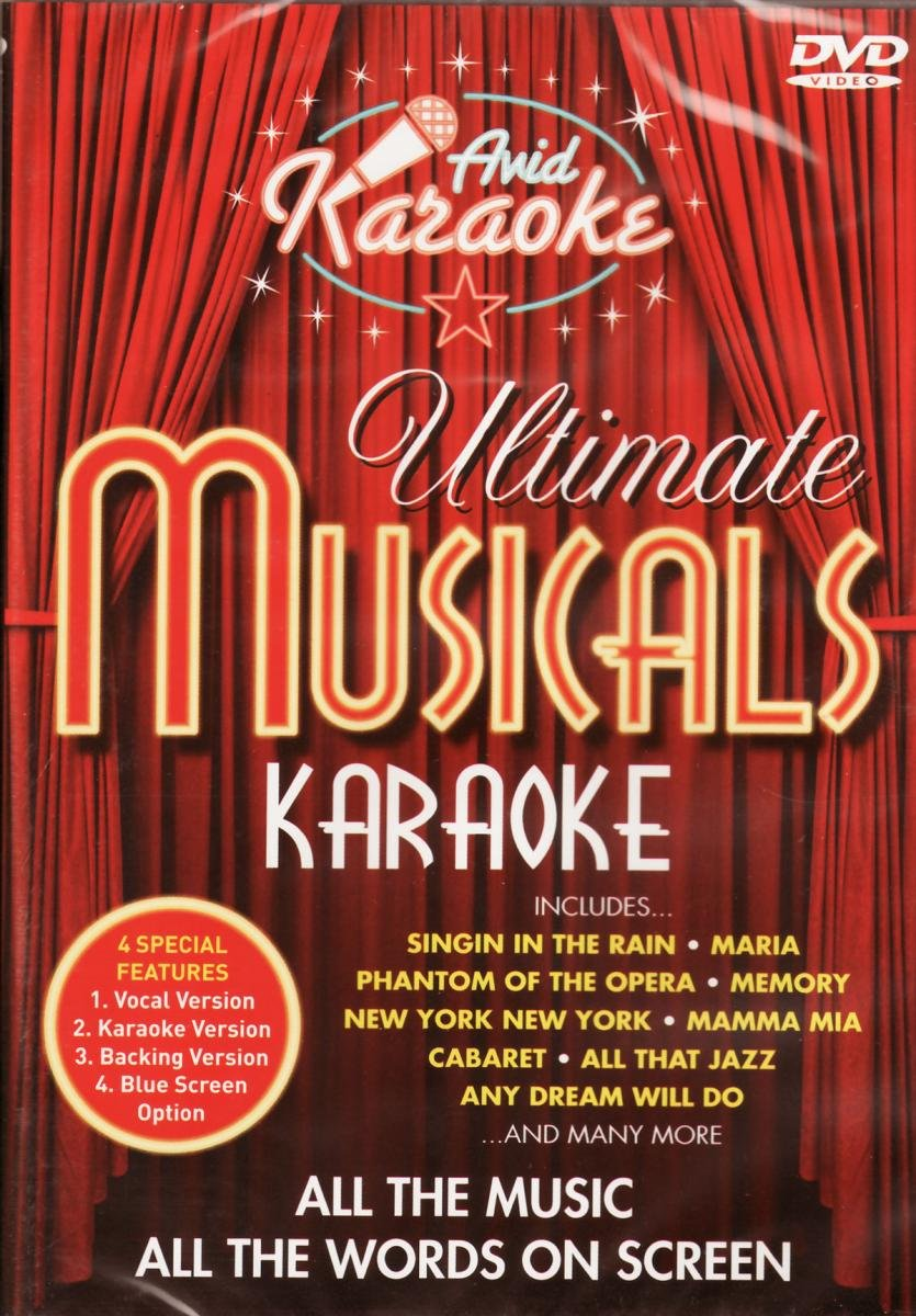 Ultimate Christmas Karaoke [Interactive DVD]: Amazon.co.uk: Karaoke ...