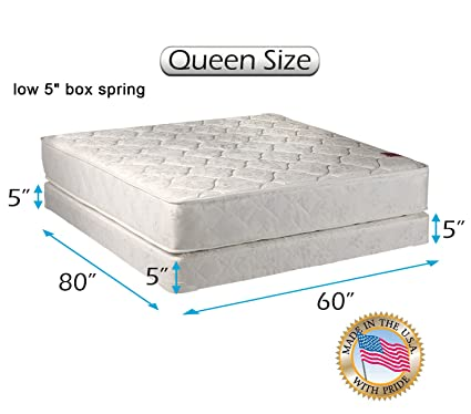 Amazon.com: Dream Solutions USA Legacy 2 Sided Queen Mattress and