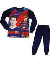 Coffret cadeau Pyjama Barça - Lionel MESSI - Collection officielle FC BARCELONE - Taille enfant garçon