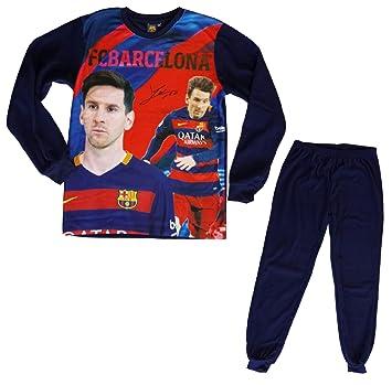 Regalo Pijama FC Barcelona – Lionel Messi – Colección oficial FC Barcelona – Talla de Niño