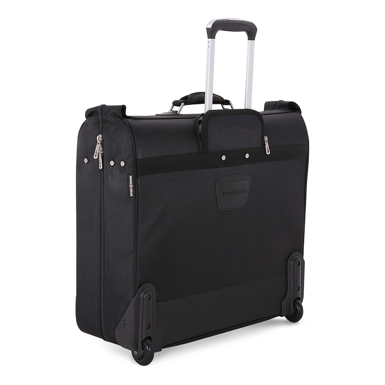 c71c3700b Amazon.com | SWISSGEAR Full-Sized Effortless Folding Wheeled Garment Bag |  Rolling Travel Luggage | Men's and Women's - Black | Garment Bags
