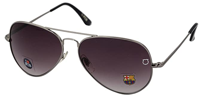 61257cd3f13 Image Unavailable. Image not available for. Colour  FCB Aviator Unisex Kids  Sunglasses ...