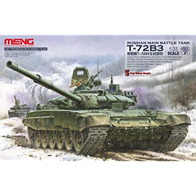 MENG TS-028 Russian Main Battle Tank T-72B3 Toy: Toys & Games